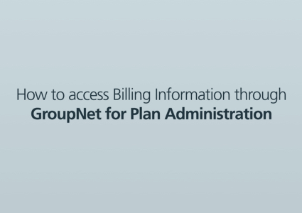 "A blank screen reading ""How to access billing information"""